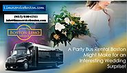A Party Bus Rental Boston Might Make for an Interesting Wedding Surprise!