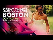 Great Things Can Happen with Party Bus Rental Boston