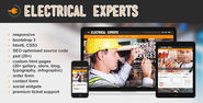 Electrical Experts website template: html5-responsive-bootstrap3