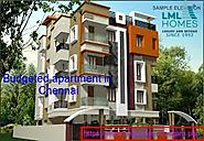 Budgeted apartment in Chennai