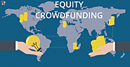 Equity crowdfunding for secure and efficient fundraising: