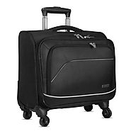 Travel Trolley Bags - Optima Four Wheel Cabin Trolley Bag - Optima Fashion