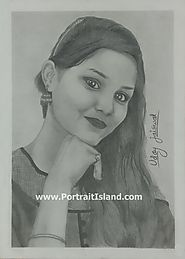Pencil Sketch as a Best Gift for Girls