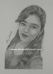 Pencil Sketch as a Celebration Gift