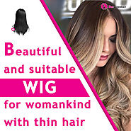 Beautiful and suitable wigs for womankind with thin hair • Beequeenhair Blog