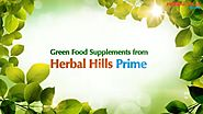 Green Food Supplements to Stay Super-Charged | Herbal Hills Prime