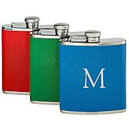 You-Initial-It Leather-Wrapped Flask 6 oz62.00 USD – The National Memo