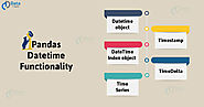 Pandas Datetime Functionality | How Timedeltas & Time Series Works? - DataFlair