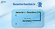 R Recursive Function (Recursion) - A Complete Tutorial for R Programmers - DataFlair
