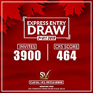 Latest Express Entry Draw invited 3900 candidates
