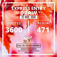 Express Entry Draw selects 3600 applicants on 27 Nov, 2019