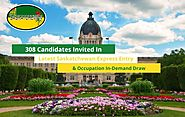 Saskatchewan Provinces Latest Draw Invited 308 Candidates