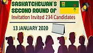 Saskatchewan Invited 234 Express Entry Candidates