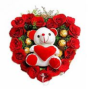 Send Flower and Chocolate Delivery Online Same Day, Midnight in India at Best Price - Yuvaflowers
