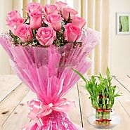 Send flowers to Indore and Get Same day & Mid-Night Delivery - Yuvaflowers