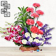 Send flowers to Noida, order Now and Get Flat 100 off - YuvaFlowers