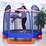 Shop Top 12' ft Indoor Trampoline Best Option for Children - Happy Trampoline