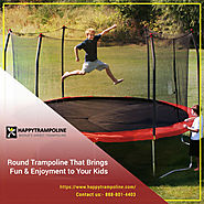 Buy Trampolines for Indoor and Outdoor