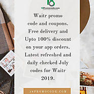 Waitr Promo Code July 2019 | 18promocode | Visual.ly