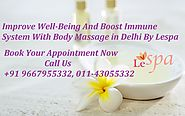 Relax The Nervous System With Best Body Massage In Delhi By Le Spa
