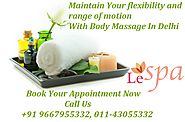 Decrease All Symptoms of Depression With Body Massage In Delhi