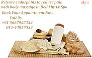 Feel mentally and physically better with full body massage in Delhi