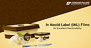 In Mould Label (IML) Films for excellent machinability