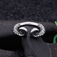 Monkey King Crown Promise Fashion Rings for men