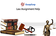 Get online help with international law assignment writing
