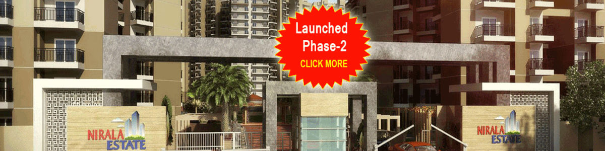 Headline for Nirala estate price list, living Floor Plan, affordable Price at phase-2 Noida Extension.