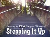 Learning to Blog FOR your Students