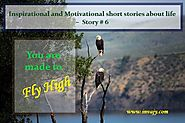 Inspirational and Motivational short stories about life – You are made to Fly High (Story # 6) | Invajy