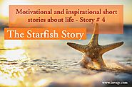 Motivational and inspirational short stories about life – The Starfish Story (Story # 4) | Invajy