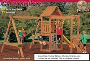 ✰ ✰ Playstar 7719 Champion XP Play Station Building Kit (Lumber, Screws, and Slide are Not Included) ✰ ✰