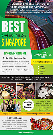 Best Gambling Site from Singapore | Call - 65 8136 9998 | bet888win.org