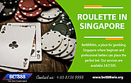 Roulette in Singapore | Call - 65 8136 9998 | bet888win.org