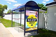 20+ Stunning Bus Stop Advertising Mockup Templates 2019 - Templatefor