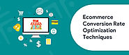 Ecommerce Conversion Rate Optimization Techniques [2020] - KrishaWeb