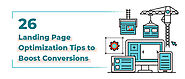 26 Landing Page Optimization Tips to Boost Conversions - KrishaWeb
