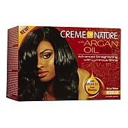 Shop creme of nature with argan oil relaxer online product