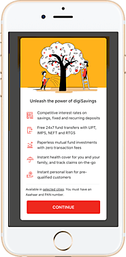 Online Savings Account in India at digibank by DBS