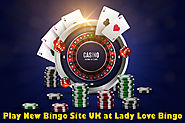 Play New Bingo Site UK at Lady Love Bingo