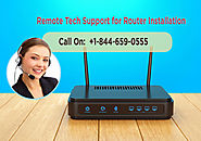 Remote Tech Support for Router Installation & Setup