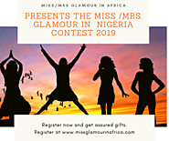 Miss/Mrs Glamour In Africa 2019. The Best Beauty Pageant in Nigeria