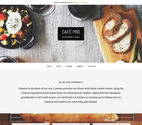 Café Pro Theme from StudioPress