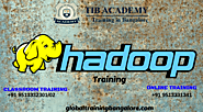 Best training institute in Bangalore for Hadoop | Hadoop training in Bangalore