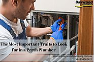 The Most Important Traits to Look for in a Perth Plumber
