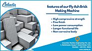 Significant features of our FlyAsh Brick Making Machine