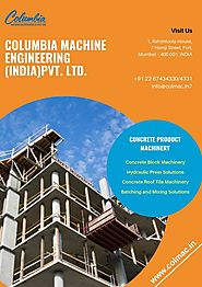 CONCRETE PRODUCT MACHINERY
