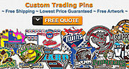 Free quotes on custom trading pins
